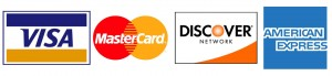 Cash, Check or Credit Cards Accepted (3% charge for Credit Card purchase)
